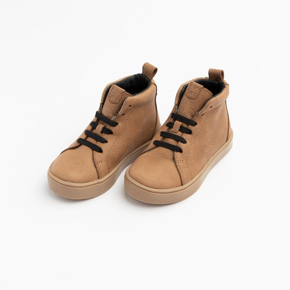 Weathered Brown Leon Sneaker
