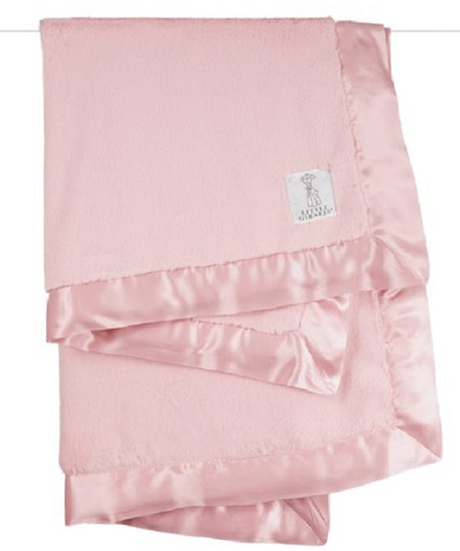 Luxe Receiving Blanket - Dusty Rose