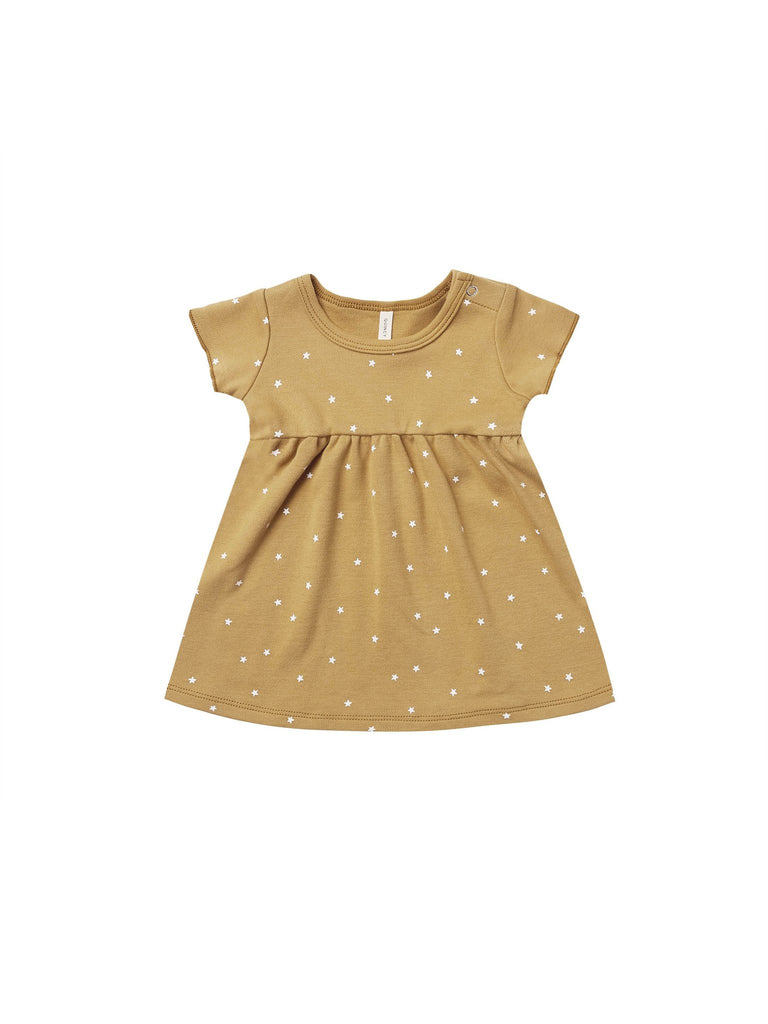 Quincy Mae Gold Star Dress & Bloomers
