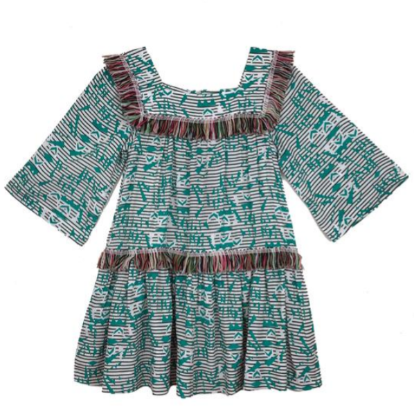 Thumbelina Fringe Dress