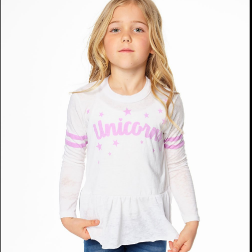 Unicorn Stars Long SleeveTee