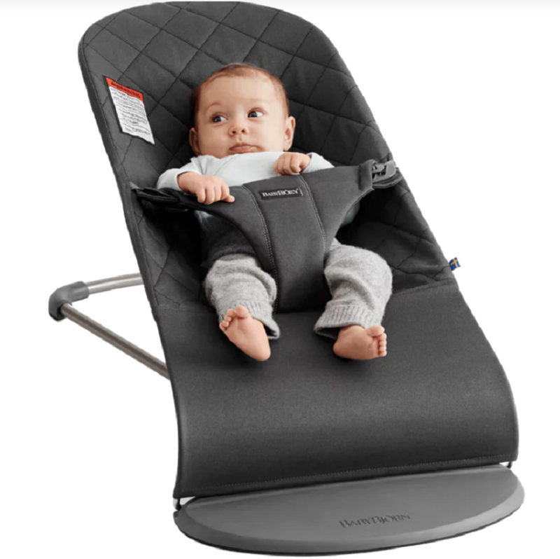 6f0eea5f8ac Baby Bjorn Bouncer Bliss - Charcoal – Charlotte West Baby