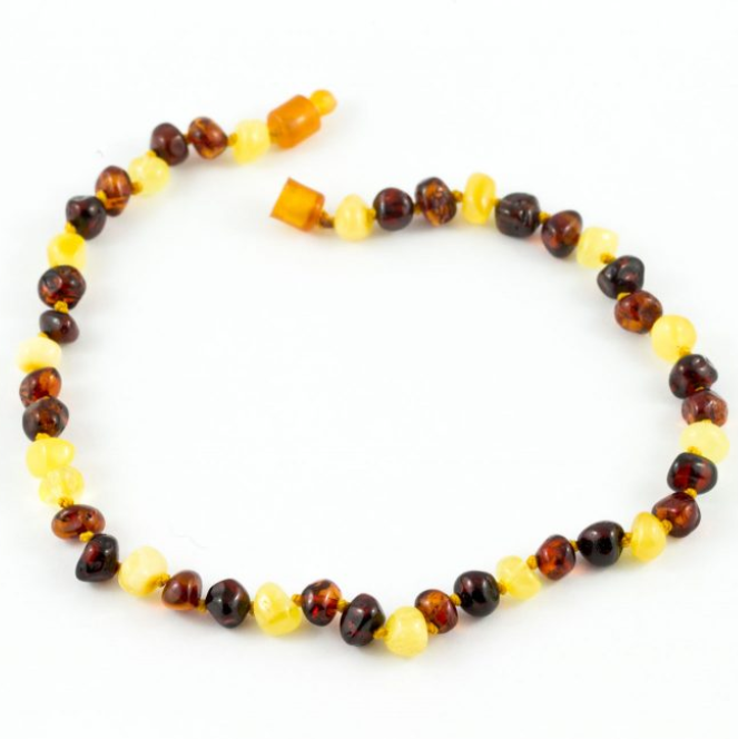 Healing Hazel - Amber Teething Necklace