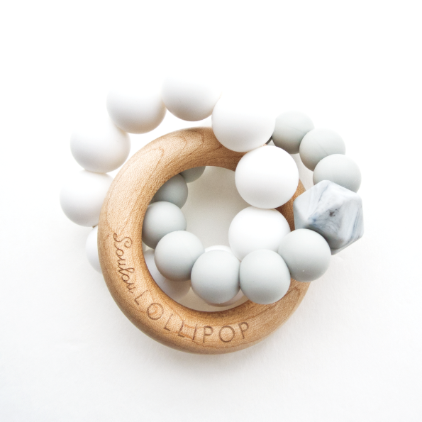 Trinity Silicone & Wood Teether