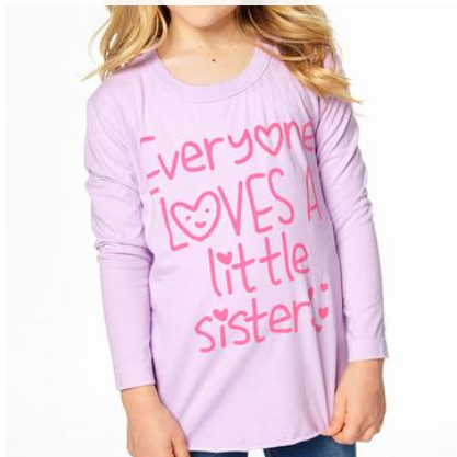 Little Sister Long Sleeve Shirt
