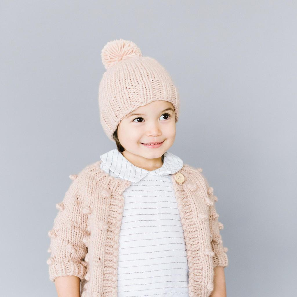 Single Pom Toddler Hat