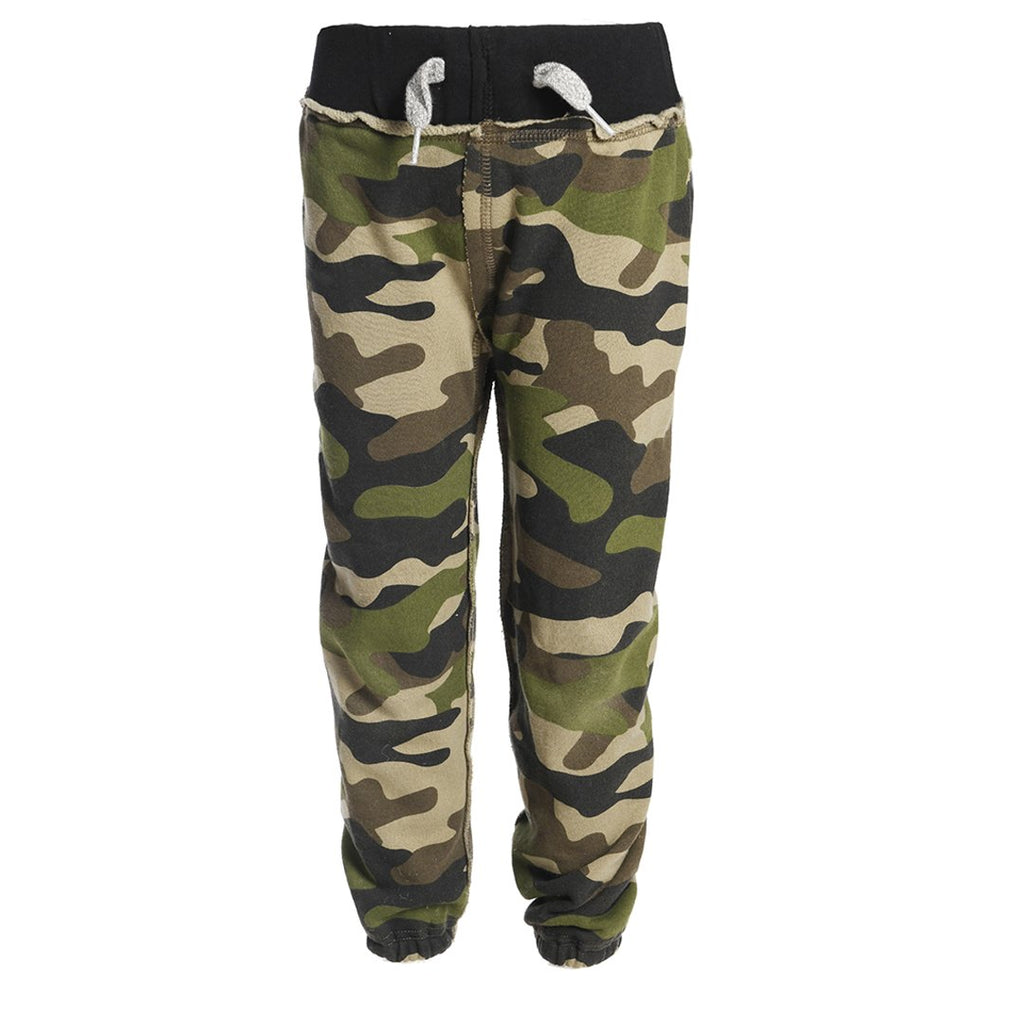 Gym Sweats/Green Camo