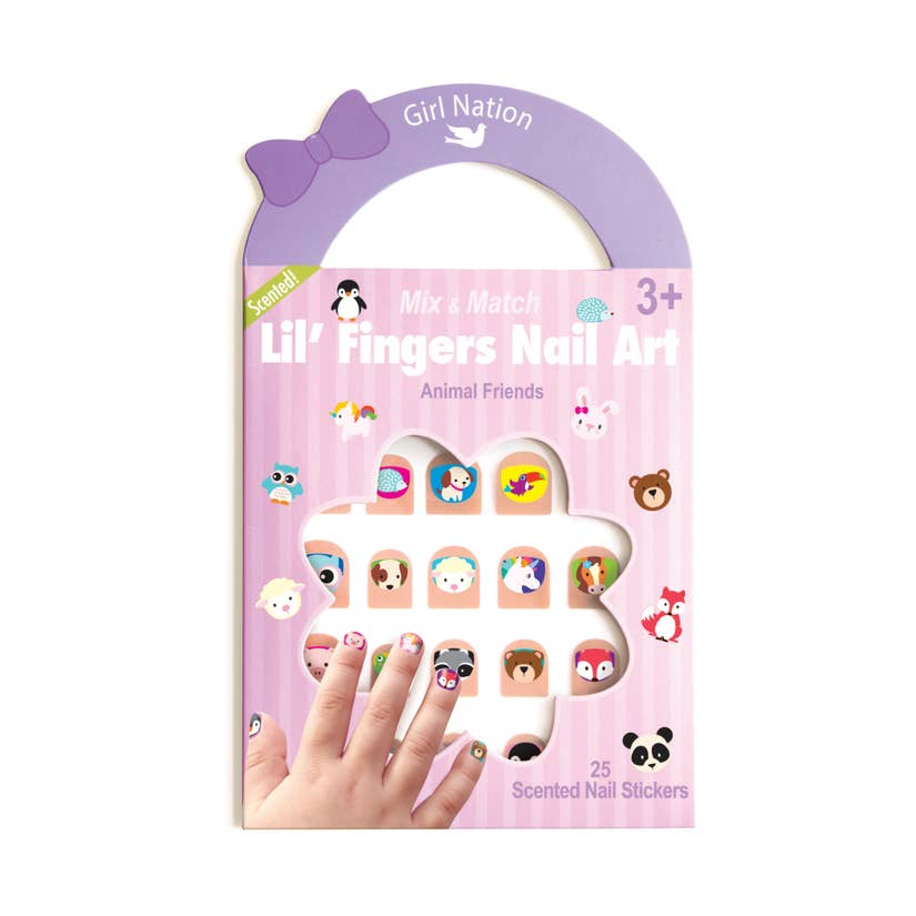 Lil' Fingers Nail Art/Animal Friends