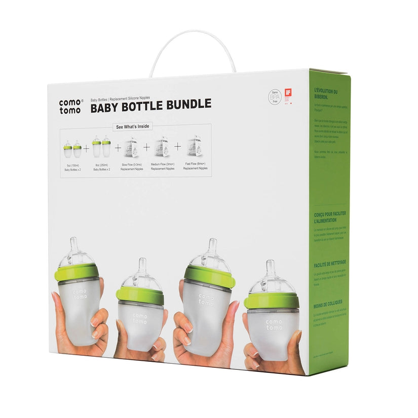 Comotomo Baby Bottle Bundle