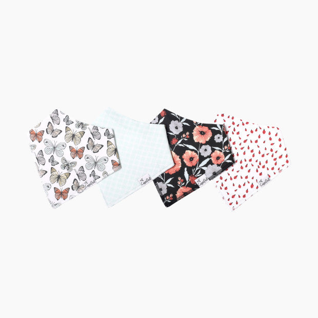 4-Pack Bandana Bibs/Dot