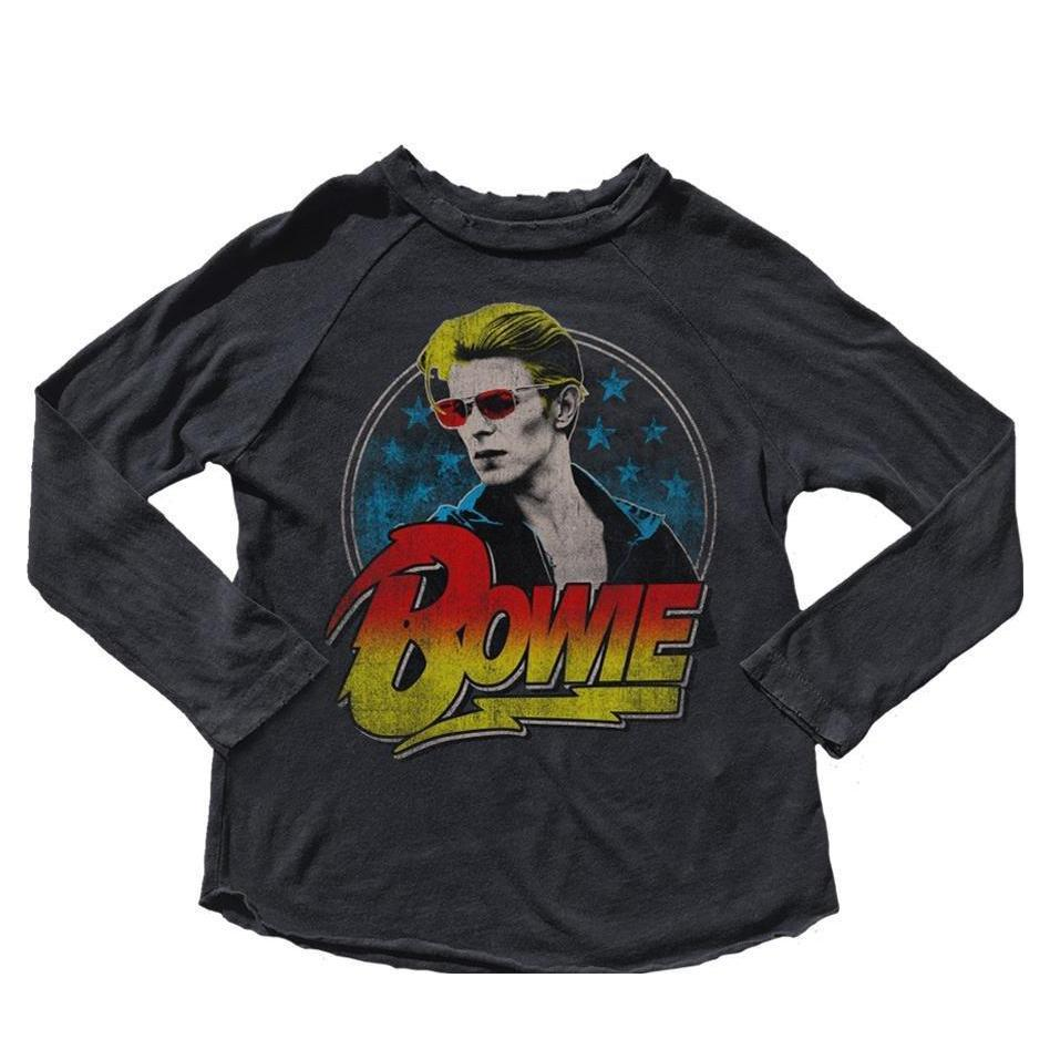 David Bowie Long Sleeve Vintage Toddler Tee