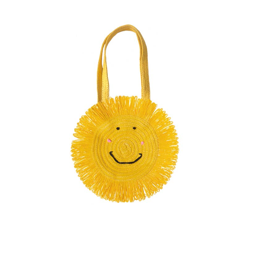 Happy Sun Basket Handbag