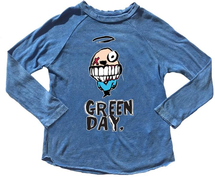 Green Day Raglan