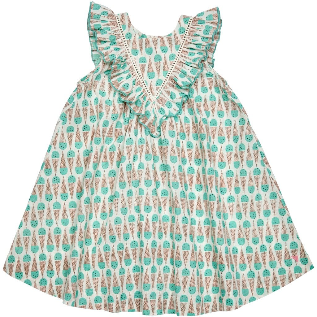 Marley Dress Mint cones