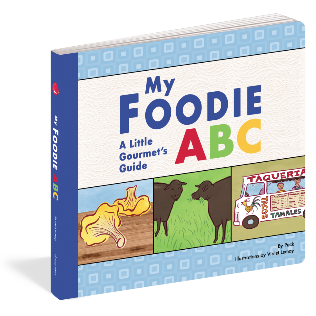My Foodie ABC Book