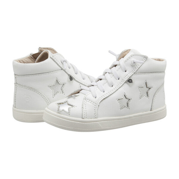 Starey High Top /Snow -Sliver
