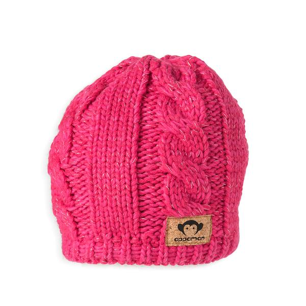 Priscilla neon pink girls hat