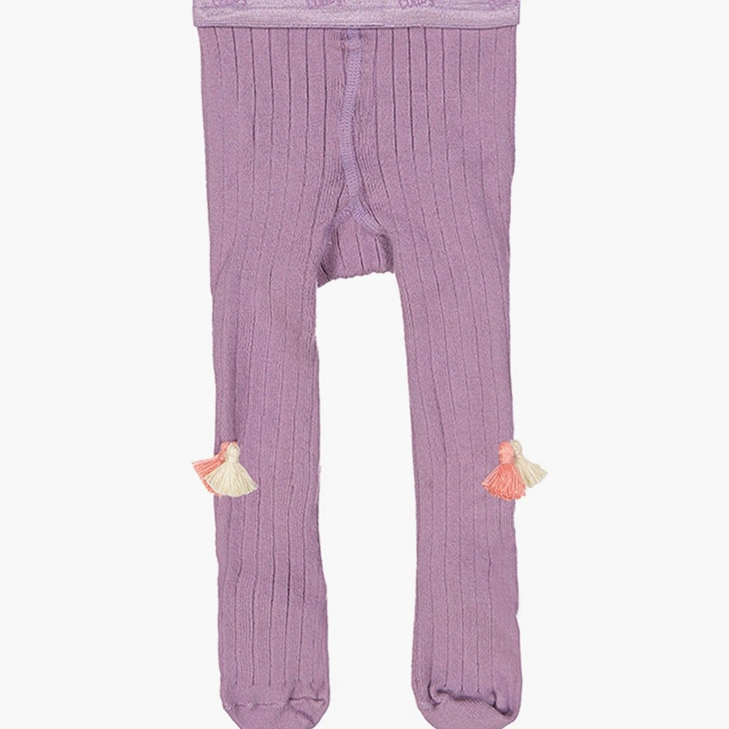 EverBloom Lavender Tights w/Tassles