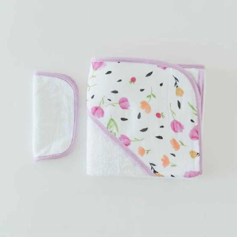 Hooded Towel Set - Berry & Bloom