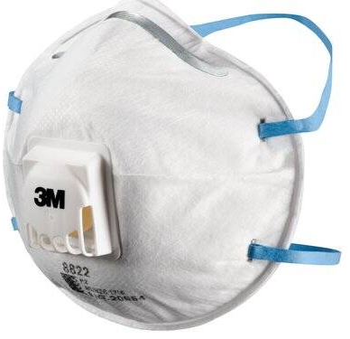 3M Particulate Respirator 8822 (box of 10)