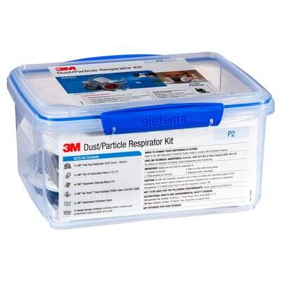 3M™ Dust/Particle Respirator Kit 6225, (P2)