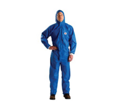 3M™ Protective Flame Resistant Coverall 4532+ L Blue Box of 20