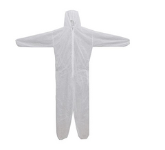 Premium Type 5/6 Coveralls (HazProPPS Branded) White