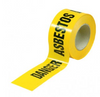 Asbestos Tape 75mm x 100m Roll