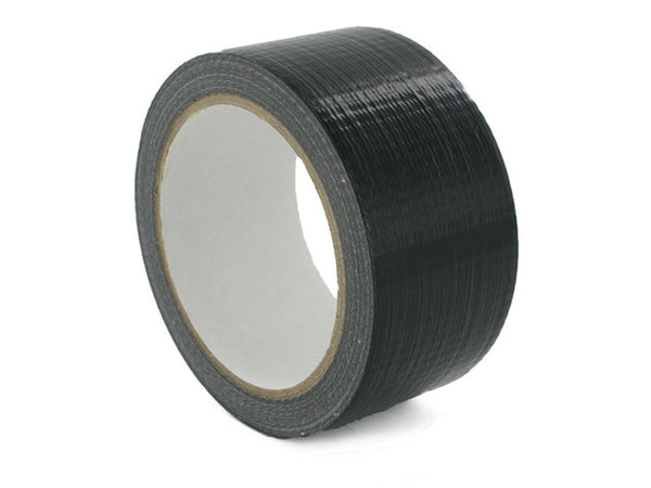 Waterproof Cloth Tape – Black 48mm X 25M