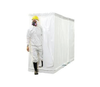 Disposable 3 stage modular (plastic sheeting)