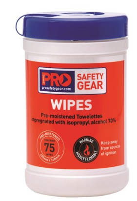 ProChoice® Iso Propyl Wipes 75 Wipes
