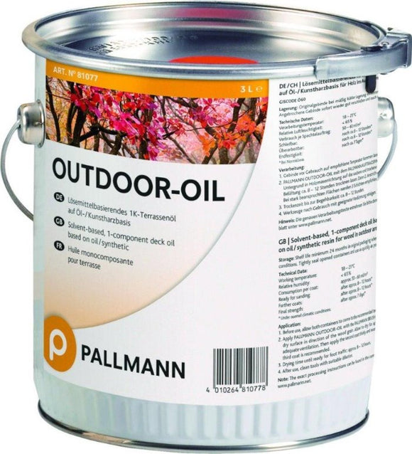 PALLMANN OUTDOOR OIL 1K