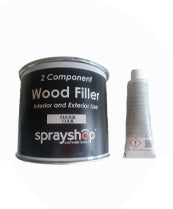 RESIN WOOD FILLER (2 PART)