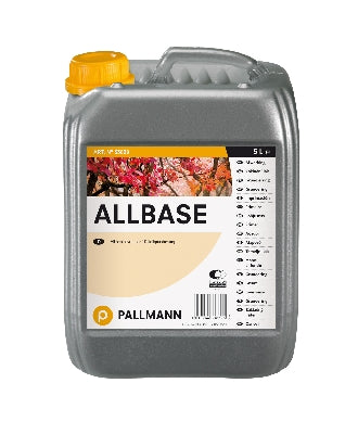 1-component, roller-applied, alcohol-based primer suitable for use with all wood floor lacquers. Pallmann Allbase provides a barrier on wood containing oils, resins and pigments and in the renovation of oiled or waxed flooring and exotic timbers. The use of alcohol-based products for sealing wood surfaces is becoming more and more restricted in accordance with TRGS 617. For this reason, we recommend the use of water-based products from the Pallmann Hydro or Pall-X ranges. Especially suitable for the...