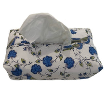 Load image into Gallery viewer, Fabric Tissue Box Cover - Bird Jal