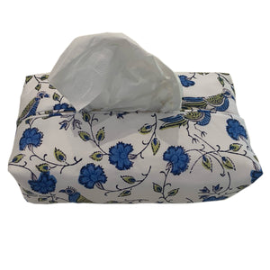 Fabric Tissue Box Cover - Bird Jal