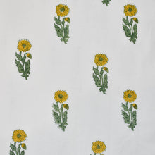 Load image into Gallery viewer, Sunflower Buta Hand Block Printed Cotton at Pigott's Store