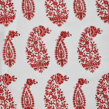 Load image into Gallery viewer, Kalamkari Paisley Hand Block Printed Fabric at Pigott's Store