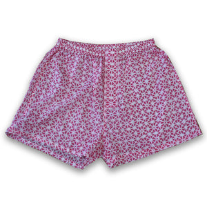 pink boxer shorts at Pigott's Store