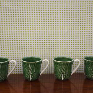 Cabbage Ware Coffee Cup