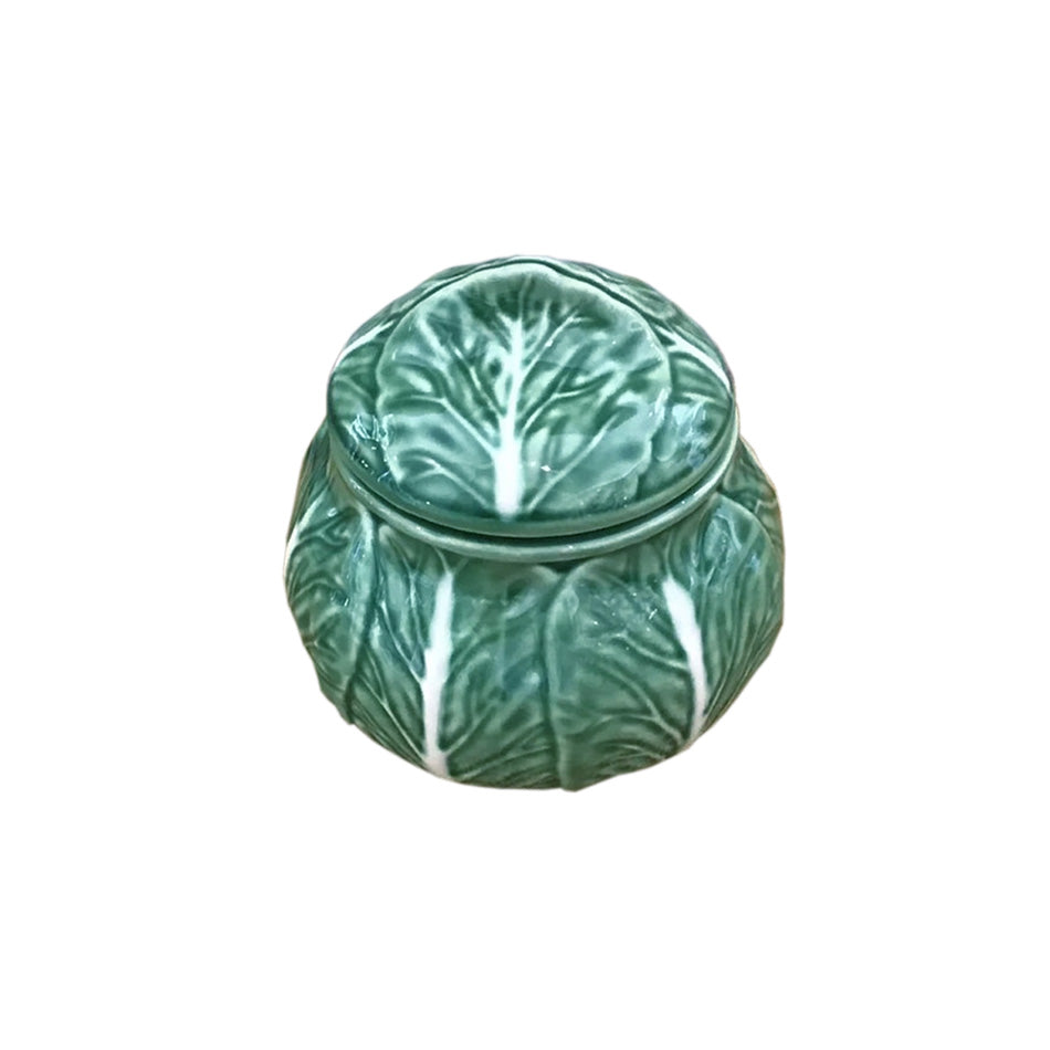 Cabbage Ware Sugar Pot - 6955