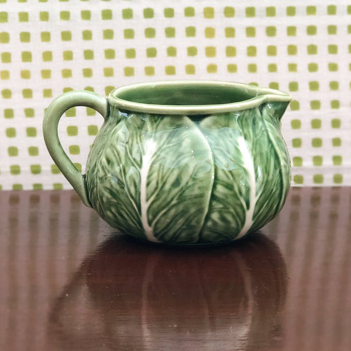 Cabbage Ware Creamer at Pigott's Store