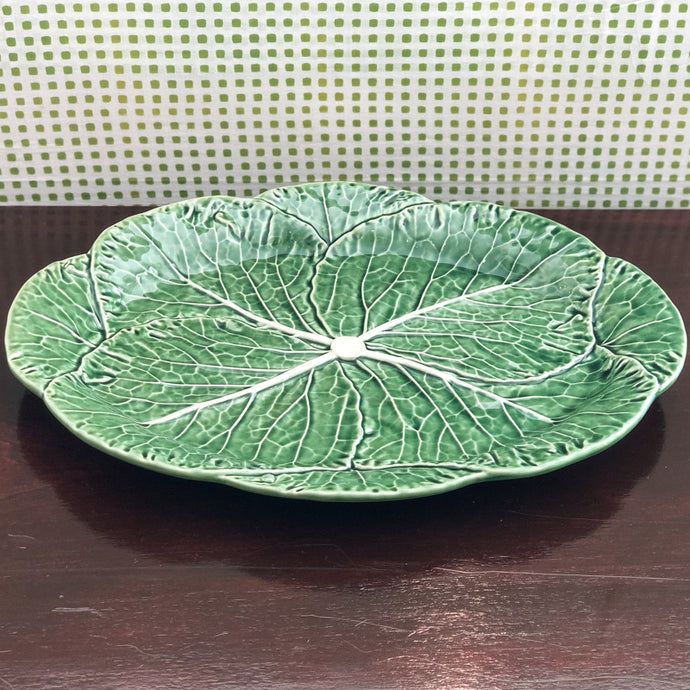 Cabbage Ware Large Oval Platter at Pigott's Store