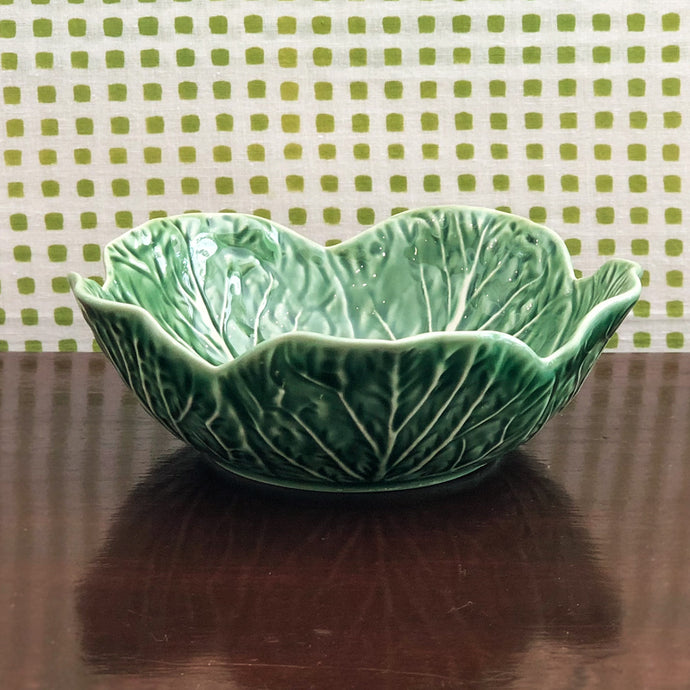 Cabbage Ware Medium Bowl at Pigott's Store