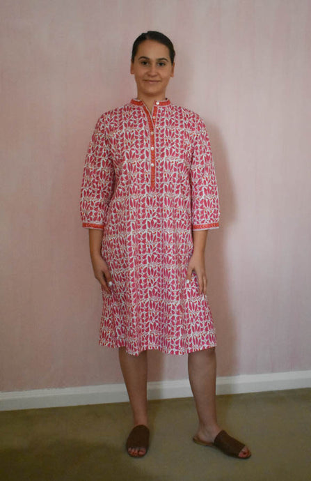 Stripe Vine Kurta Dress at Pigott's Store
