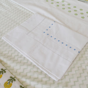 Dot Pillow Case - blue -HTM003/813