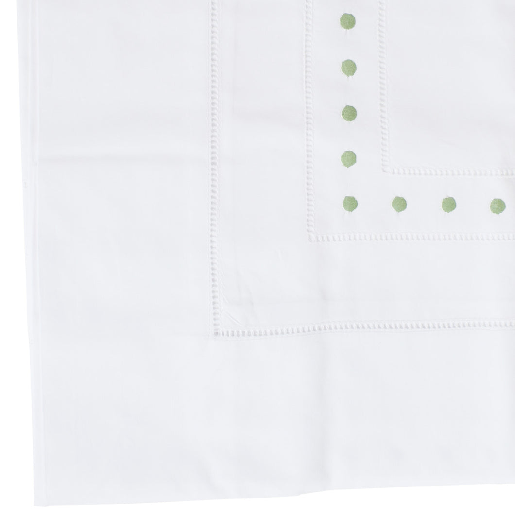 Dot Pillow Case - Pale Green -HTM003/964