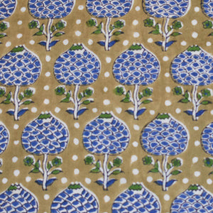 Pigott's Store Hand Block Printed Fabric Pure Cotton