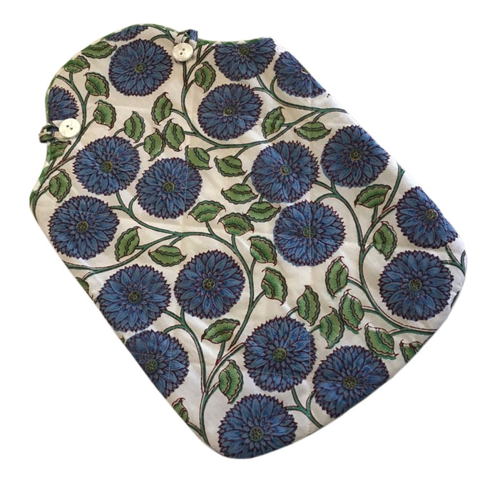 Hot Water Bottle Cover - Lotus Sunflower