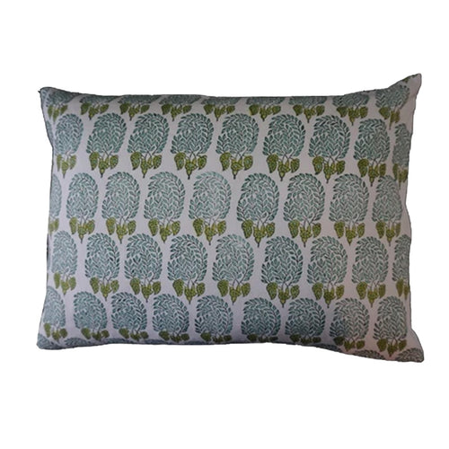 Mini Pillow Case - Block Printed - Bumble